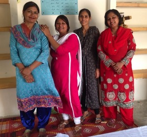 The sewing school team